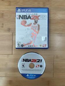 NBA 2K21 (Sony Playstation 4, PS4, 2020) Basketball Video Game - Ships Same Day