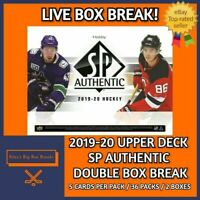 2019-20 SP AUTHENTIC (x2) DOUBLE BOX BREAK #50 - PICK YOUR OWN TEAM!