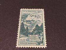 3¢ cent Black Hills Mount Rushmore South Dakota Stamp Unused #1011 1952 MNH-OG