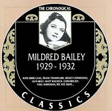 The Chronological Classics: Mildred Bailey, 1929-1932, BAILEY,MILDRED, , New