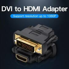 Vention DVI to Standard HDMI Converter 24+1 Male to Female 1080P HDTV Adapter