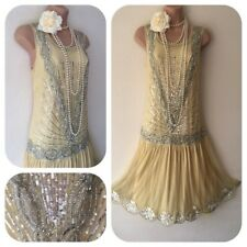 NWT Joanne Hope Sequin Beaded Embellished Dress 20's Gatsby in 12 Deco Flapper
