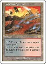 SULFUROUS SPRINGS Sixth Edition MTG Land RARE