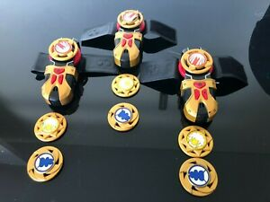 Power Ranger Ninja Storm morpher with 3 power discs *one morpher per purchase*