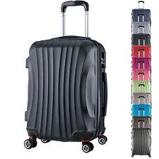 Reisekoffer Trolley Hartschale Reisen Koffer Handgepäck M L XL Set 4 Rollen #467