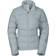 The North Face Womens Nuptse 2 700 Fill Down Puffer Jacket Coat Lg - Grey // 8F