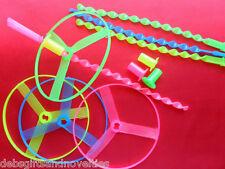 Bulk Lot 20 Fun Fun Fun Flying Frisbee UFO'S Kids Toy Party Loot Bag Favors