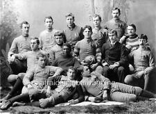 Photo.  1889 - 90.  U of Michigan Football Team
