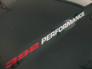 392 PERFORMANCE Hood decal Hemi 6.4L Charger 300C Challenger SRT 8 Ram 1500 FITS