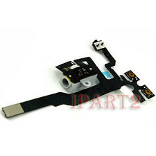 Headphone Audio Jack Power Flex Cable Replacement for Apple iPhone 4S (White)