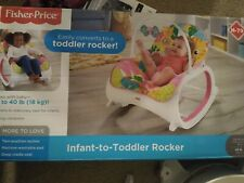 Fisher Price Infant-to-Toddler Rocker (Teal Safari)