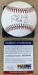 PAUL GOLDSCHMIDT WITH #46 LICENSED PSA/DNA AUTHENTICATED SIGNED MLB BASEBALL