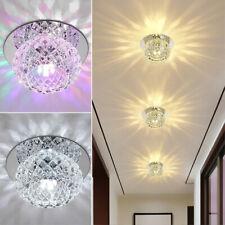 LED Deckenleuchte Kristall Lampe Wohnzimmer Schlafzimmer Flurleuchte Beleuchtung