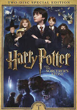 HARRY POTTER AND THE SORCERER'S STONE NEW DVD