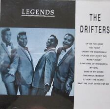 THE DRIFTERS - LEGENDS IN MUSIC  -  CD
