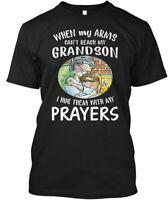 When My Arms Cant Reach Grandson Hanes Tagless Tee T-Shirt
