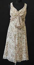 Armani vestido 100% seda lagen chifón talla 36 vestido de verano 699,- euros Edel d1132