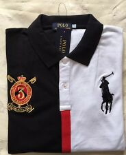 Da Uomo Ralph Lauren manica corta Polo t shirt Regular Fit Dimensione-Medium Rrp £ 75