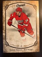 2015-16 UD Champs Gold Parallel Back Variant #148 Gustav Nyquist Brand New