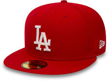 New Era 59Fifty MLB LA Dodgers Scarlet/White Cap