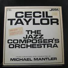Cecil Taylor - The Jazz Composer's Orchestra LP VG+ JCOA 1002 Vinyl Record