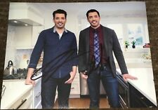 JONATHAN & DREW SCOTT SIGNED HGTV PROPERTY BROTHERS 8x10 PHOTO A w/EXACT PROOF