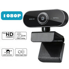 Webcam HD USB 1080p pc Web camera cam microphone