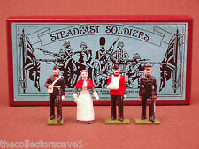 STEADFAST SOLDIERS SF21  BRITISH MEDICAL CORPS WITH NURSE AND WOUNDED RARE SET