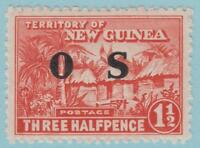 New Guinea O2 Mint Hinged OG * - No Faults Very Fine!!!