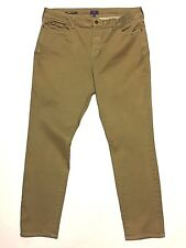 Nydj 16 Not your daughters 37 x 30 Stretch Khaki Jeans  Alina Legging USA Made