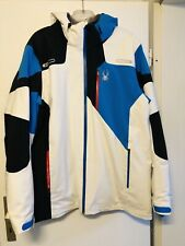 Spyder    Vyper Skijacke    Herren     Weiß  French blau  schwarz    XL