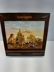 Lynn Lupetti 1999 PuzzleThe Innocent Architect 750 Pieces Sealed Box NOS