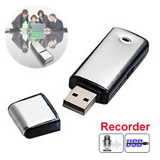 NEW OZ Hot Flash Drive 8GB USB Disk Voice Spy Recorder Memory Key Dictation