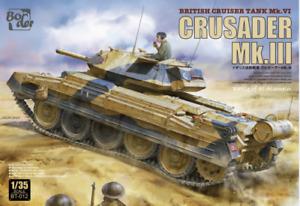 Border 1/35 BT012 British Cruiser Tank Crusader Mk.III