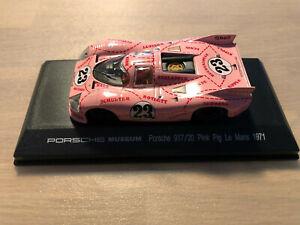 PORSCHE MUSEUM . Porsche 917/20  Pink Pig Le Mans 1971 1:43
