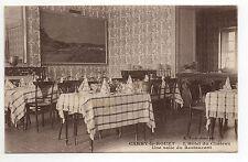 CARRY LE ROUET Bouches du rhone CPA 13 l'hotel du chateau salle de restaurant