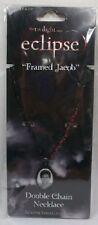 Twilight Saga Eclipse Framed Jacob Double Chain Necklace