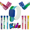 EDZ KIDS ID BAND Childs Safety Re-useable Wristband Holiday Festival Autism