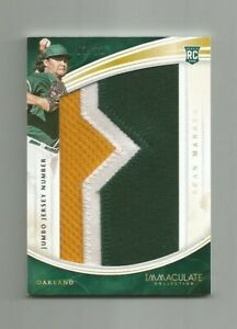 2016 SEAN MANAEA RC PANINI IMMACULATE JUMBO JERSEY MATERIAL NUMBER PATCH #/10