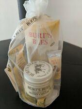 Burt's Bees Hand Repair Gift Set, 3 Creams plus Gloves - Almond Milk. cuticle