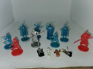 Star Wars Game  Board Pieces Chess Collectible Figures Red & Blue Mixed Lot