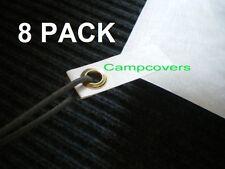 """Dupont Tyvek ground cloth sheet """"Ultralight Grommet Tabs"""" 8 pack"""