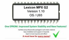 Lexicon MPX G2 - Version 1.10 Firmware Update Upgrade Eprom [Latest OS]