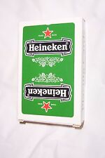 "Vintage 1980 Heineken Bier Beer Playing Cards Made in Belgium 2.25"" by 3.5"""