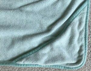 Norwex Antibac Towel Microfiber Sage Mint Green Hooded Kids Baby Bath Towel