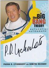 THE BIG BANG THEORY SEASONS  6 & 7 PDL1 PASHA D. LYCHNIKOFF DIMITRI AUTOGRAPH