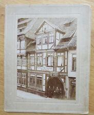 Altes großes Foto Gasthof und Restaurant ERNST WENTE um 1920