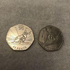 New listing Olympic 50p Coin Bundle Set (Triathlon, Wrestling) Rare Circulated 2011