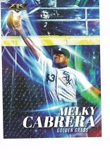 "2017 Topps Fire Golden Grabs 5""x7"" /49 Melky Cabrera Chicago White Sox OVERSIZED"