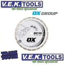 """OX 16"""" 415MM SEGMENTED DIAMOND CUTTING BLADE FOR BRICK OR DEMO SAW-VALUED@$159"""
